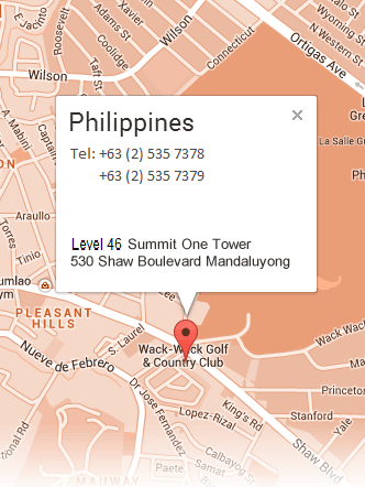 Map Philippines Office