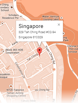 Map Singapore Office